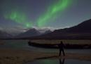 Aurore boreali in Norvegia