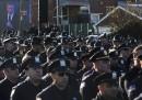 Le foto del funerale del poliziotto ucciso a New York