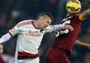 Roma e Milan hanno pareggiato 0-0 nell'anticipo della sedicesima giornata di serie A