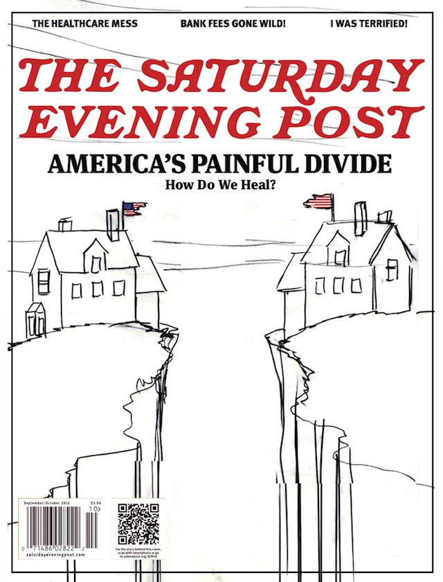 america divided impaginato