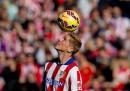 La presentazione di Fernando Torres all'Atletico Madrid