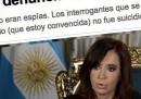 Kirchner e la morte del procuratore Nisman