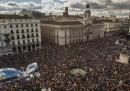 Le foto della grande manifestazione di Podemos a Madrid
