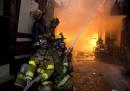 Le foto dell'incendio nella baraccopoli di Manila