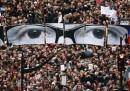 La grande marcia repubblicana a Parigi