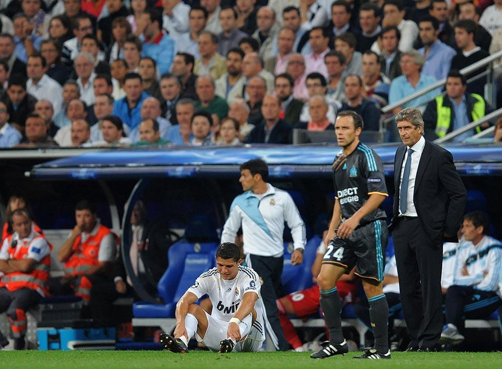 Real Madrid v Marseille - UEFA Champions League