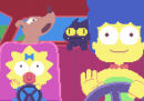 I Simpson in pixel