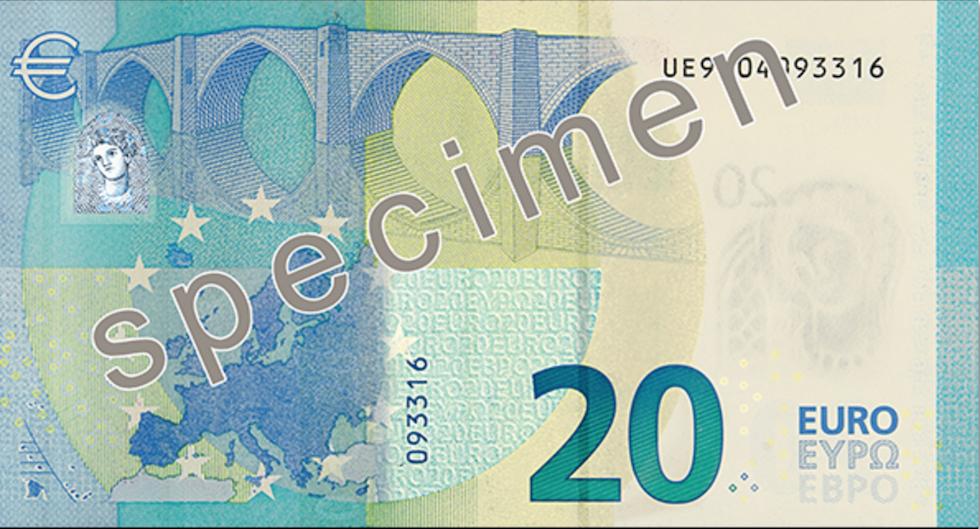 Nuovi 20 euro