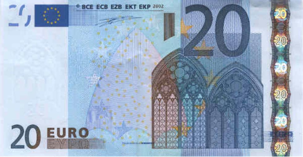 20 euro vecchi