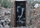 Le opere di Banksy a Gaza