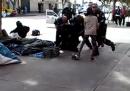 La polizia ha ucciso un senzatetto a Los Angeles