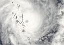 I danni del ciclone Pam sulle isole di Vanuatu