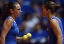 Le tenniste Sara Errani e Roberta Vinci hanno detto che non giocheranno più assieme nel doppio