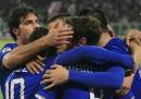La Juventus ha battuto il Palermo per 1 a 0 fuori casa, nell'anticipo della Serie A