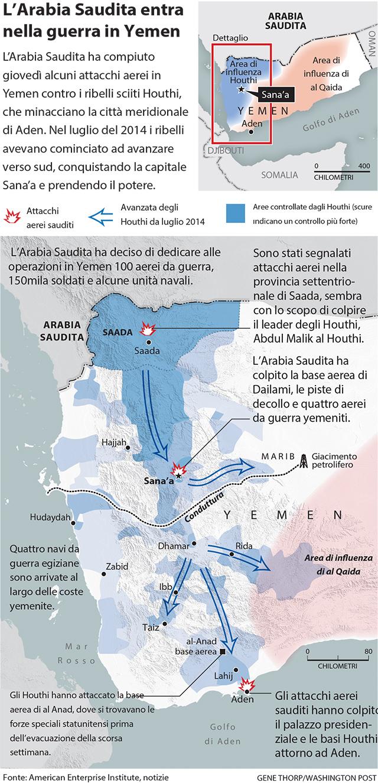 Cartina Yemen.La Guerra In Yemen Spiegata Bene Il Post