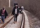 I migranti uccisi lungo una ferrovia in Macedonia