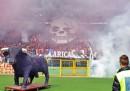 I feriti durante il derby Torino-Juventus