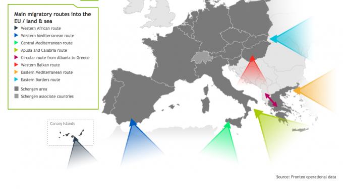 Migrazioni mappe