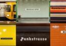 La tipografia della metropolitana di Berlino