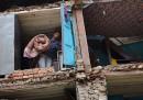 Il terremoto in Nepal, le ultime immagini