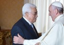 Papa Francesco: Mahmud Abbas è un «angelo di pace»