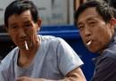 La campagna in Cina contro il fumo