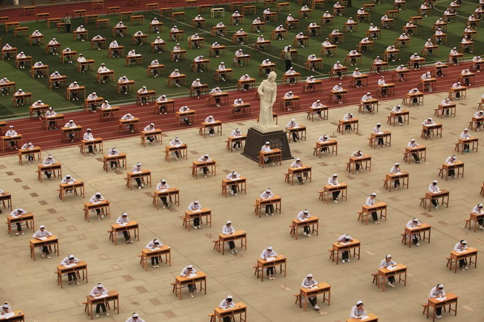 Baoji, Shaanxi, Cina