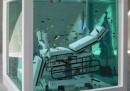 La vasca di Damien Hirst alla Fondazione Prada