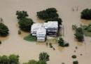 Le foto dell'alluvione in Texas, dall'alto