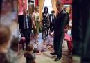La foto della bambina che fa i capricci alla Casa Bianca