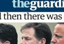 Le prime pagine britanniche sulle elezioni