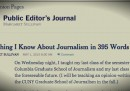 395 parole sul giornalismo