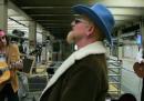 Gli U2 che suonano nella metropolitana di New York