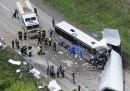 L'incidente tra un pullman di turisti italiani e un TIR in Pennsylvania