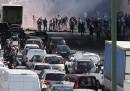 Lo sciopero dei tassisti francesi contro UberPop