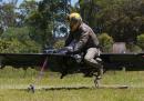 Le moto volanti dell'esercito americano