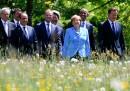 Le foto bucoliche del primo giorno di G7