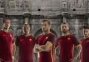 La nuova maglia della Roma per la stagione 2015-2016