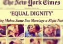 Le prime pagine dei giornali americani sulla sentenza sui matrimoni gay