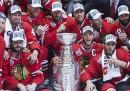 I Chicago Blackhawks hanno vinto la Stanley Cup, e il campionato di hockey su ghiaccio nordamericano