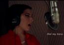 """Il video di Amy Winehouse che registra """"Back to Black"""""""