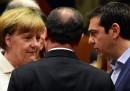 I leader europei trattano sulla Grecia