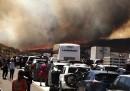 Le foto del grande incendio in California