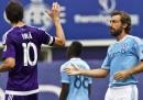 Pirlo e Kaka nella partita tra New York FC e Orlando, le foto