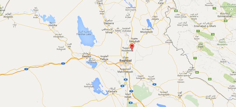 mappa-iraq