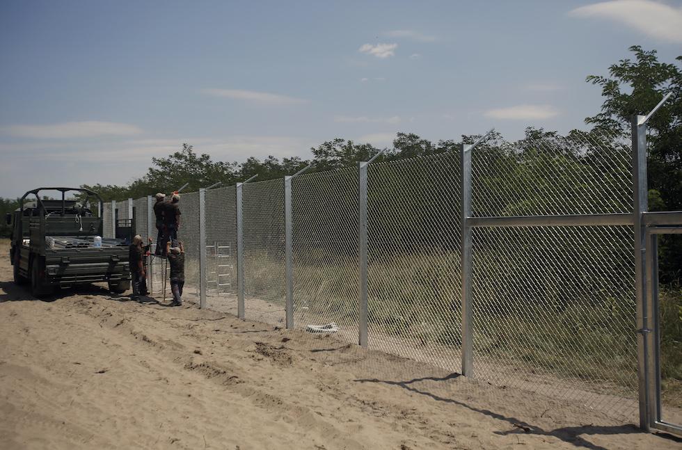 Hungary Anti-Migrant Fence