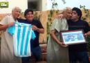 Maradona ha incontrato l'arbitro della