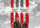 """Il nuovo poster di """"The Hateful Eight"""", il prossimo film di Quentin Tarantino"""
