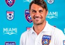 Il logo del Miami FC, la squadra di Paolo Maldini