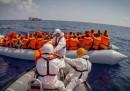 Una barca si è ribaltata al largo della Libia